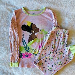 Disney girls Tiana pajamas- size 10